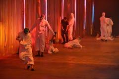 Tancerze wykonują przy Rochambeau pasa startowego przedstawieniem Obraz Stock