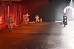 Tancerze wykonują przy Rochambeau pasa startowego przedstawieniem Fotografia Royalty Free