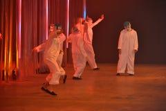 Tancerze wykonują przy Rochambeau pasa startowego przedstawieniem Obrazy Royalty Free