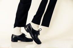 Tancerzy butów zamknięty up Fotografia Royalty Free