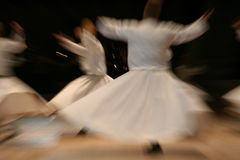 tancerzy dervis Zdjęcia Stock