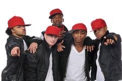 tancerzy hip hop styl Zdjęcie Stock