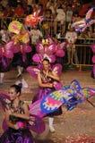 tancerzy motyli kochankowie Fotografia Royalty Free