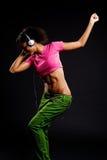 tancerzy nęcący hełmofony Zdjęcie Stock