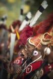 Tanczący Nagaland Plemiennego zdjęcia royalty free