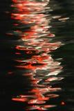 Tanczyć światła Na wodzie zdjęcie royalty free