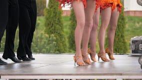 Tanczyć na festiwalu - slowmotion 180 fps zbiory wideo