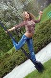 Tanczyć na słupie zdjęcie royalty free