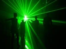 Tanczyć w świetle Obrazy Stock