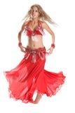 tanczy czerwień obraz stock