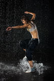 tanczy nowożytnego Obrazy Stock