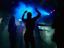 Tanczyć w mgle Zdjęcia Stock