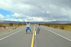 Tanczyć z krajobrazem Obraz Stock