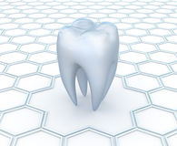 tand- abstrakt bakgrund Arkivfoto