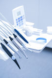 Tand- behandlinghjälpmedel Royaltyfri Foto
