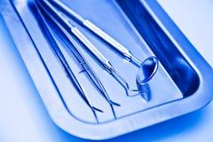 tand- eqipment för closeup Royaltyfri Fotografi