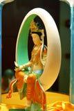 tand för buddha mu reliktempel fotografering för bildbyråer