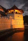 tand för tempel för aftonlankasri Royaltyfria Bilder