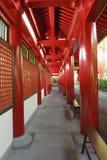 tand för tempel för buddha passagewayrelik Fotografering för Bildbyråer
