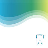 tand- grön vektor för bakgrund Royaltyfri Foto
