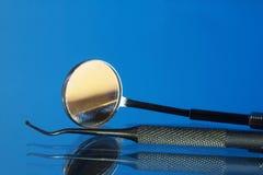 Tand- hjälpmedel och utrustning Fotografering för Bildbyråer