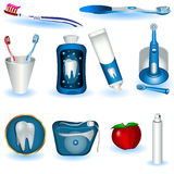 tand- hygien Arkivfoto