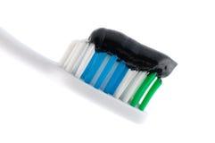 tand- hygientand för omsorg Arkivfoto