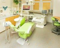 tand- klinik Arkivfoto