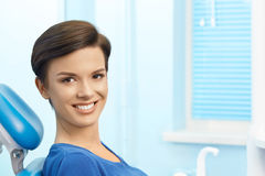 tand- klinik tand- kontor Arkivfoto