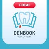 Tand- klinikboksymbol Logo Design Element vektor illustrationer
