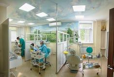 tand- kontor Fotografering för Bildbyråer