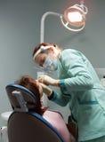 tand- kontorskirurgi Royaltyfri Fotografi