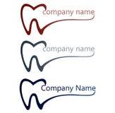 Tand- logo Arkivfoton