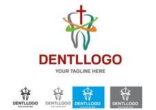 tand- logo Arkivfoto