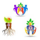 tand- logo royaltyfri illustrationer
