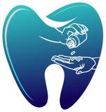 tand- medicin stock illustrationer