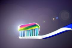 tand- omsorg Royaltyfri Bild