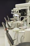 Tand- stol för rad Fotografering för Bildbyråer