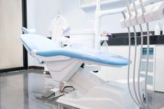 Tand- stol i regeringsställning eller klinik arkivbild