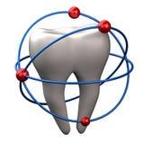 Tand - tandvårdbegrepp Fotografering för Bildbyråer