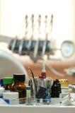 tand- tillförsel Fotografering för Bildbyråer
