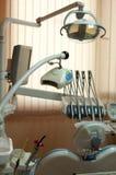 tand- utrustningkontor Arkivbild