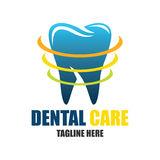 Tand voor tandheelkunde/stomatologist/tandkliniekembleem Vector Illustratie