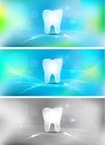 Tandachtergrond Stock Afbeeldingen