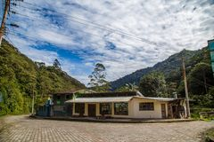 Tandayapa, Ecuador. October 29, 2017: Village in the ecorruta `Paseo del Quinde` within the cloud forest, a natural sanctuary to the northwest of Quito Stock Photo