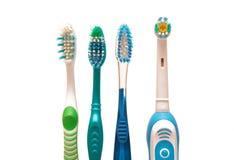 tandborstar arkivfoto