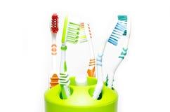 tandborstar Arkivbilder
