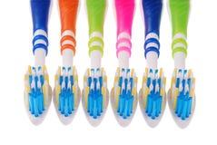 Tandborstar (snabb bana) Fotografering för Bildbyråer