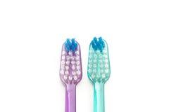 tandborstar två Royaltyfri Fotografi