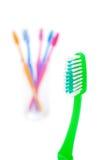 tandborste Arkivbild